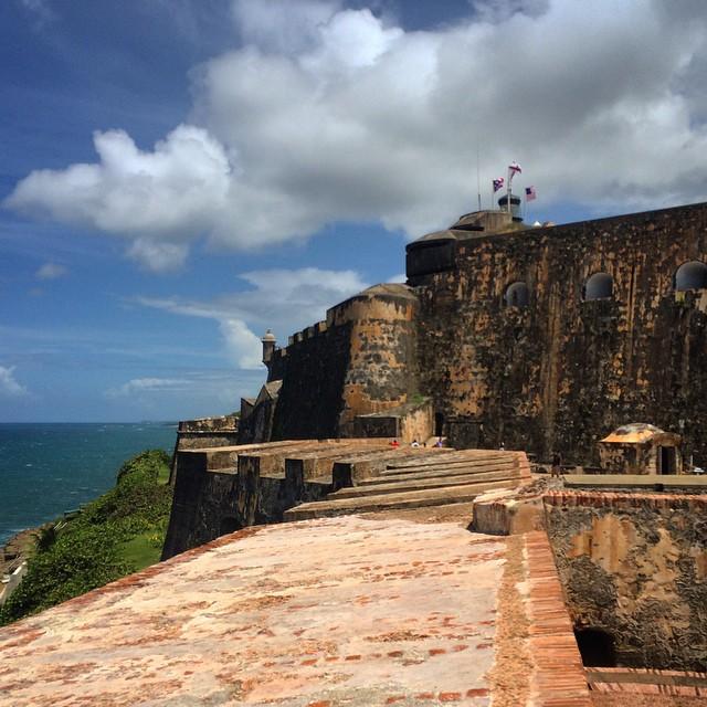 16th century war fortress, El Castillo De San Cristobal #oldsanjuan #puertorico #castillodesancristobal #stcristobalcastle