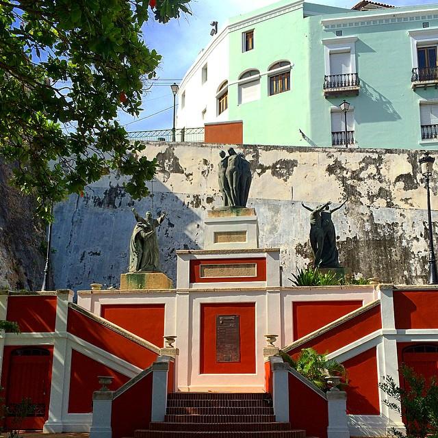 Colorful #OldSanJuan #PuertoRico
